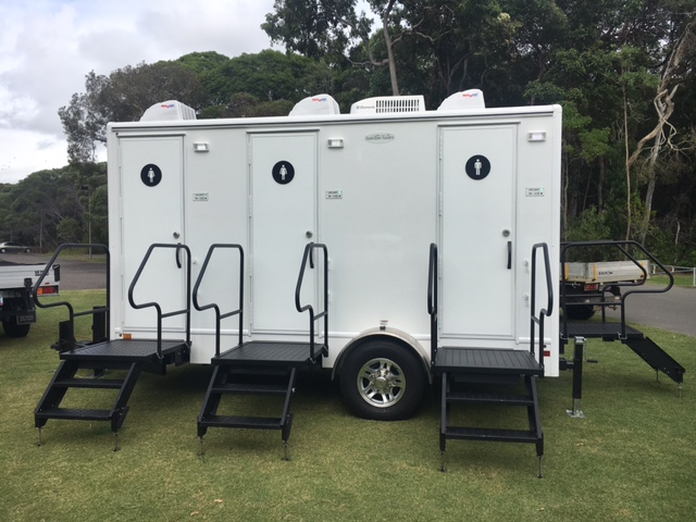 luxury mobile toilets - portable toilet hire price